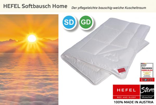 Hefel - Softbausch Home - Funktionsfaser. : Sommer - Single. Hefel Bio-Bettwaren, Decken, Polster, Unterbetten und Bettwäsche von Vitalschlaf: Ihre individuelle & vitale Schlafwelt aus Österreich.