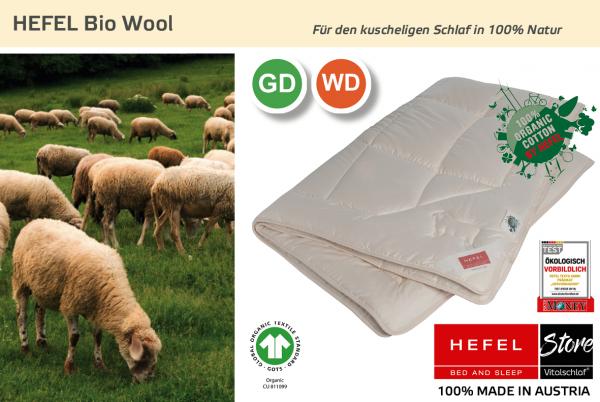 Hefel - Bio Wool - Naturhaar. Ganzjahres: Ganzjahres - Single. Hefel Bio-Bettwaren, Decken, Polster, Unterbetten und Bettwäsche von Vitalschlaf: Ihre individuelle & vitale Schlafwelt aus Österreich.